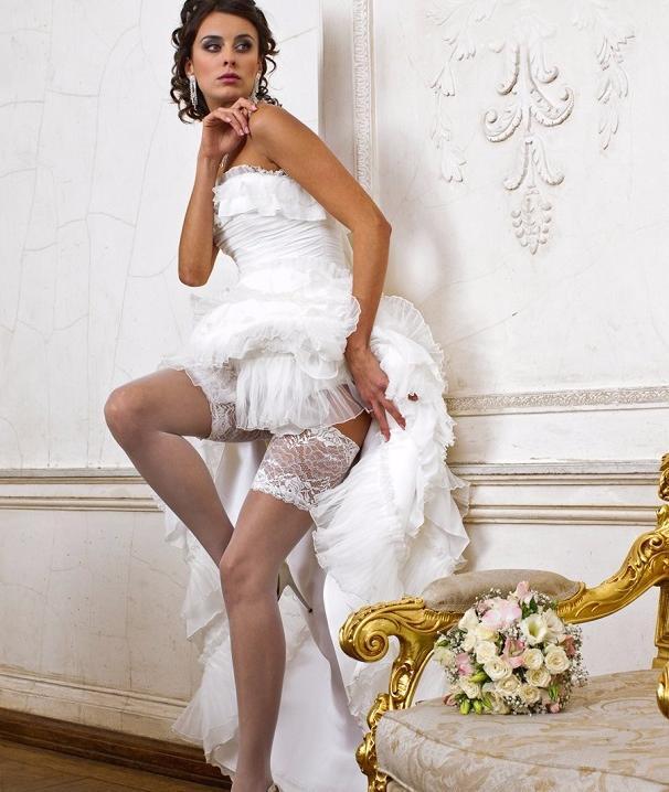 Невесты на свадьбе в чулках фото 62-966